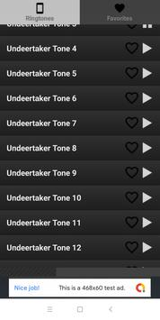 Undertaker ringtones free screenshot 2