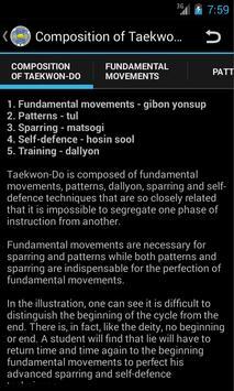 Taekwon-Do ITF Theory スクリーンショット 1