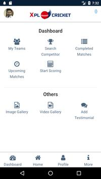 XPL Cricket Scoring App screenshot 2