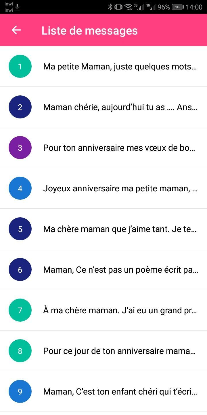 Sms Anniversaire For Android Apk Download