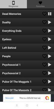 Best Slipknot ringtones screenshot 1