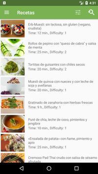 Recetas veganas   Diet-Health captura de pantalla 1