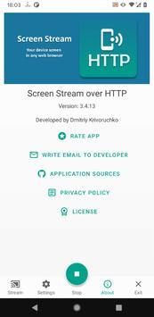 Screen Stream over HTTP screenshot 6