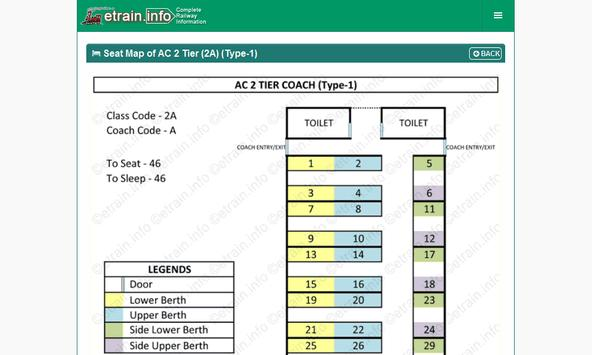 Indian Railways @etrain.info screenshot 15