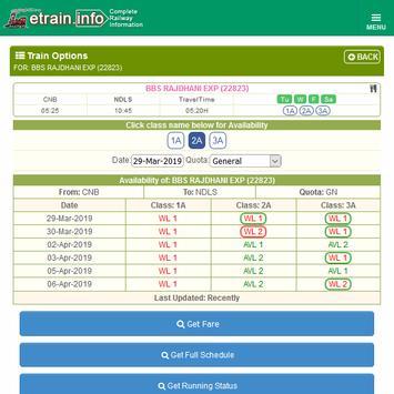Indian Railways @etrain.info screenshot 17