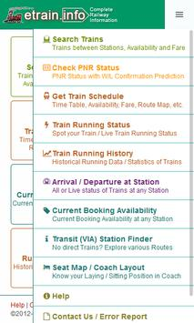Indian Railways @etrain info for Android - APK Download