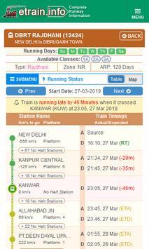 Indian Railways @etrain.info screenshot 3