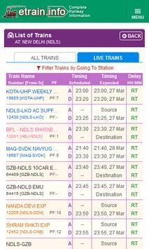 Indian Railways @etrain.info screenshot 4