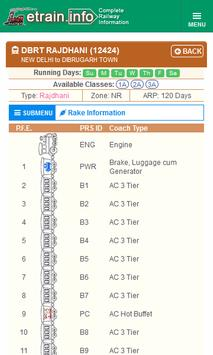 Indian Railways @etrain.info screenshot 6