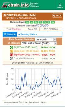 Indian Railways @etrain.info screenshot 7