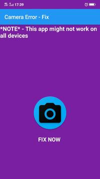 Camera Error Fix - Quick fix for Android - APK Download