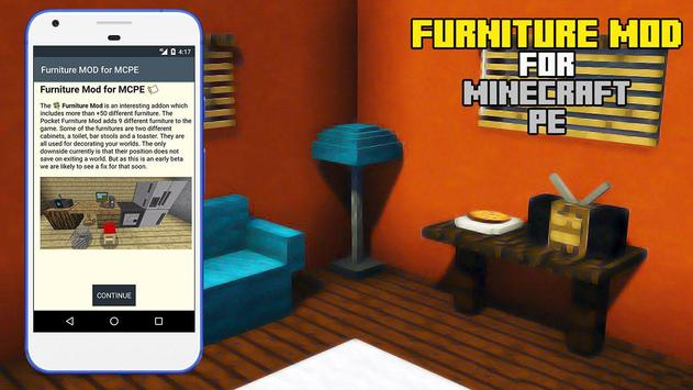 Furniture MOD for Minecraft PE screenshot 2