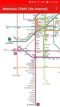 Metrobús CDMX (Sin Internet) screenshot 1