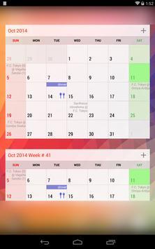 New Calendar imagem de tela 10