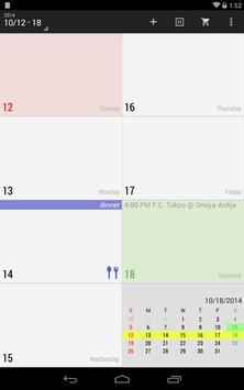 New Calendar imagem de tela 12