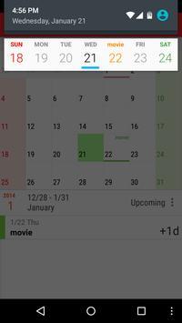 New Calendar imagem de tela 4