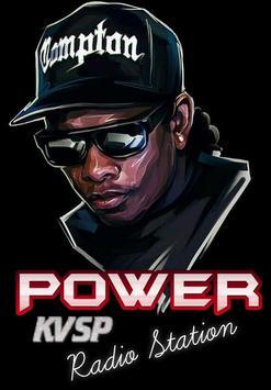 Power 103.5 Radio KVSP poster