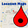 Location Map ikona