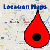 خريطة الموقع أيقونة