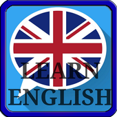 Learn English for free and fast icon