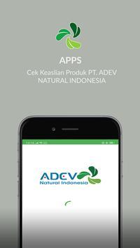 Cek Keaslian Produk PT. ADEV NATURAL INDONESIA poster