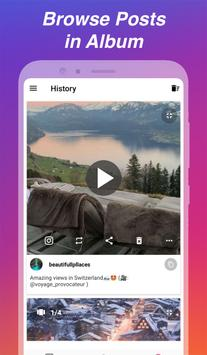 Downloader voor Instagram - Repost & Multi-account screenshot 2
