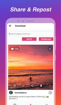 Downloader voor Instagram - Repost & Multi-account screenshot 5