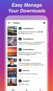 Downloader voor Instagram - Repost & Multi-account screenshot 6