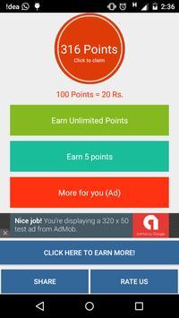 Play2Win Earn Money, Free Recharge & Daily Cash screenshot 1