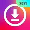 Wideo downloader na instagram, save story ikona