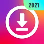 Descargar video de instagram, download stories icono