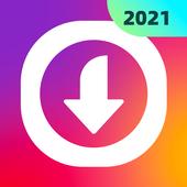 Télécharger vidéo,Downloader for Instagram-AhaSave icône