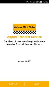 Yellow Mini Cabs poster