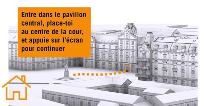 Jeanne's Tour of the Familistère screenshot 16