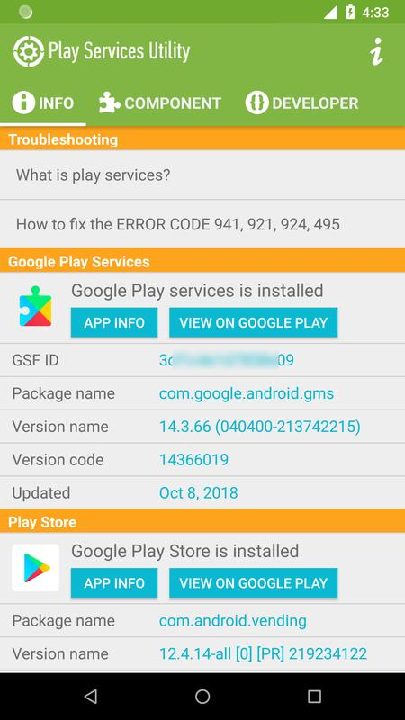 install google play services android sdk
