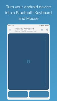 Serverless Bluetooth Keyboard & Mouse Premium постер