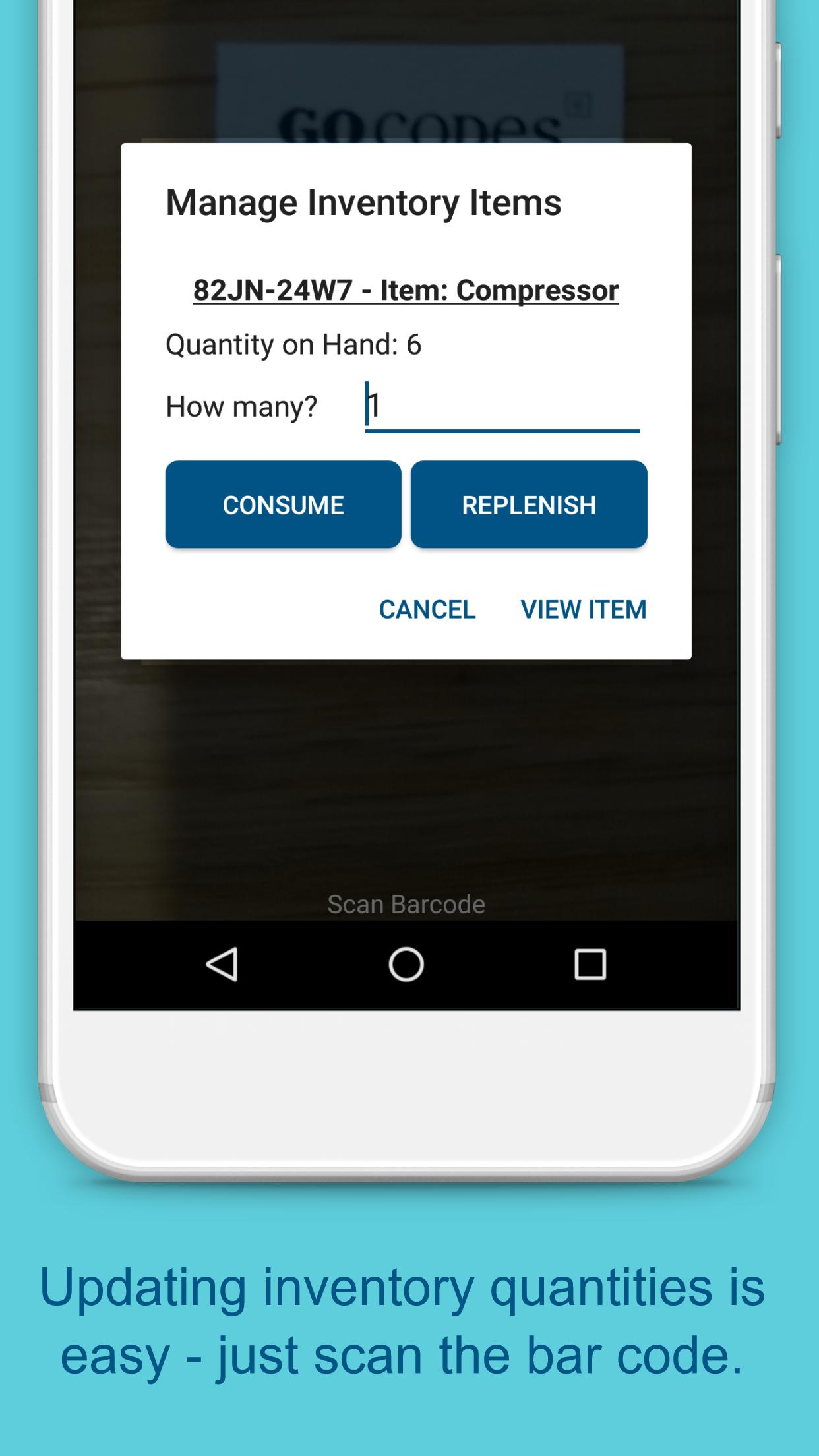 Asset & Inventory Tracking Barcode Scanner for Android - APK