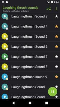 Appp.io - Laughing thrush sounds screenshot 1