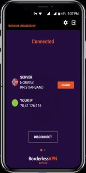 Borderless VPN - Ultimate security poster