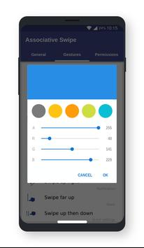 Associative Swipe تصوير الشاشة 6