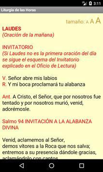 Liturgia de las Horas syot layar 2