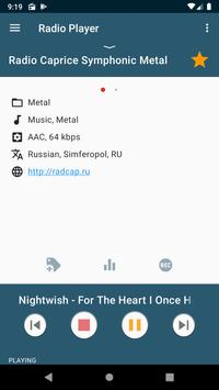 Internet Radio Player screenshot 2