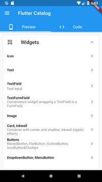 Flutter Catalog screenshot 1