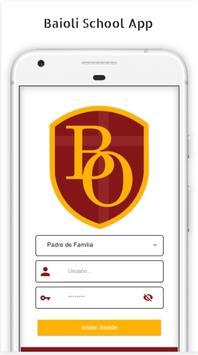 Baioli School App poster
