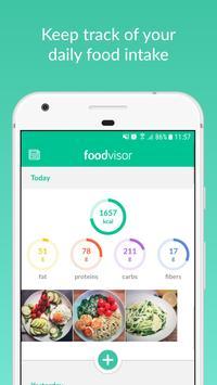 Foodvisor Ekran Görüntüsü 1