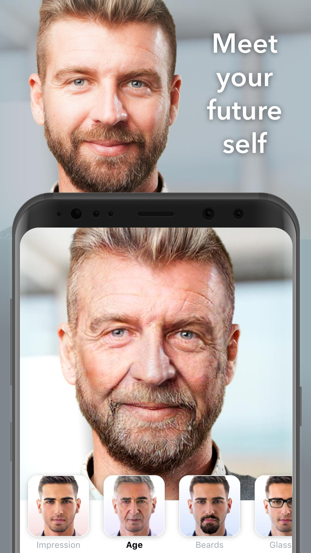 FaceApp screenshot 1