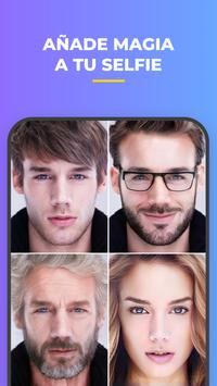 FaceApp captura de pantalla 7