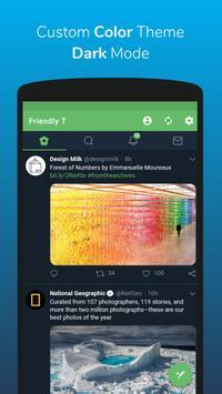 Friendly For Twitter Ekran Görüntüsü 3