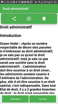 Droit Administratif screenshot 2