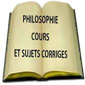 Philosoplie cours et sujets corrigés icon